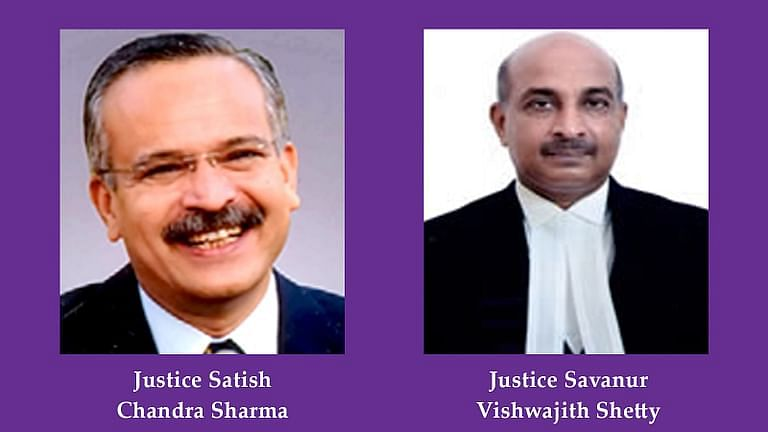 Justice Satish Chandra Sharma, Justice Vishwajith Shetty