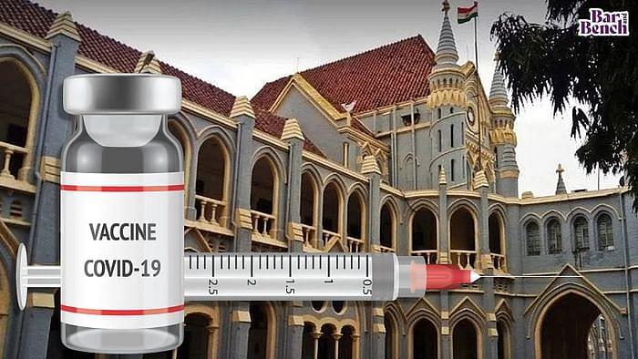 Madhya Pradesh High Court with Covid-19 Vaccine