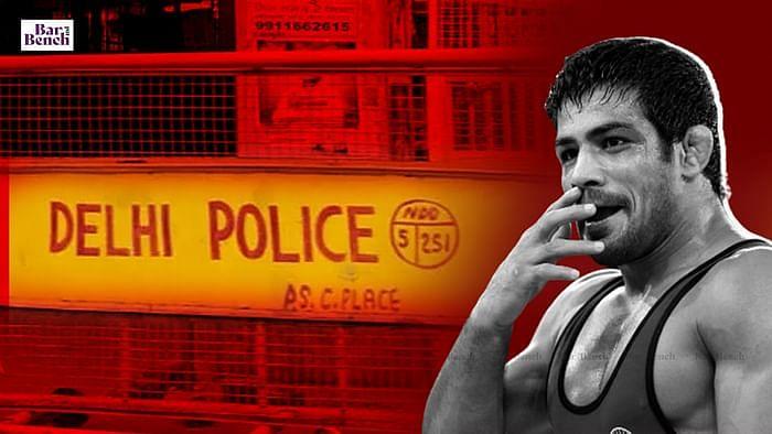 Sushil Kumar and Delhi police