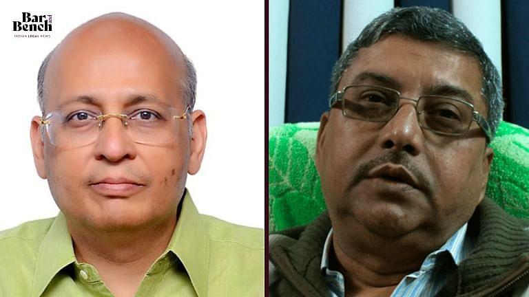 AM Singhvi and Kalyan Bandyopadhyay