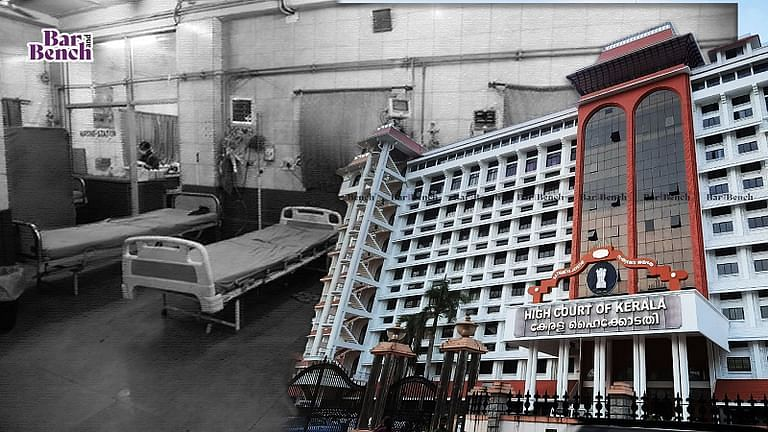Kerala High Court and Hospital beds