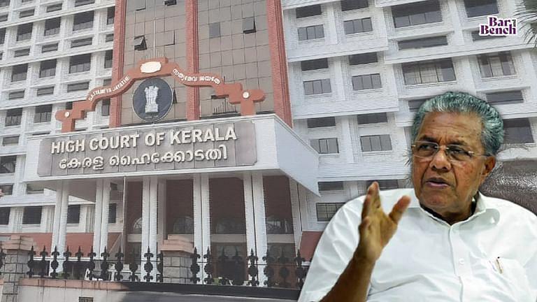 Pinarayi Vijayan and Kerala High Court