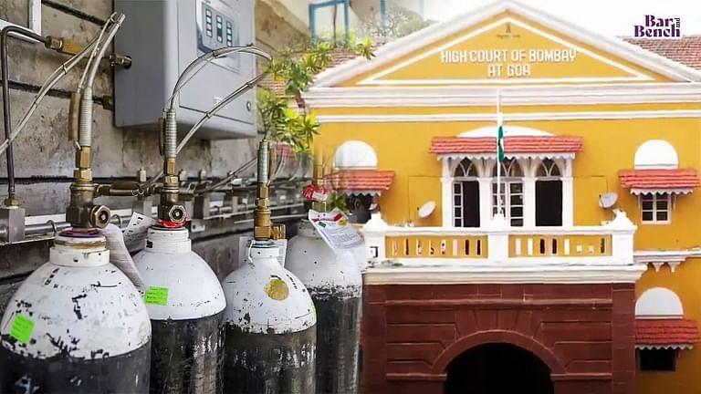 Goa HC, Oxygen cylinder