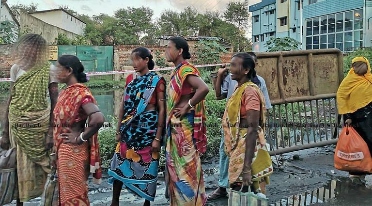 Migrants in Calcutta