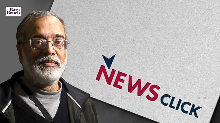 Newsclick Logo, Prabir Purkayastha