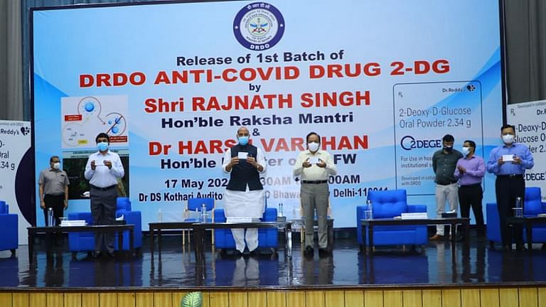 Launch of 2-DG drug on May 17, 2021