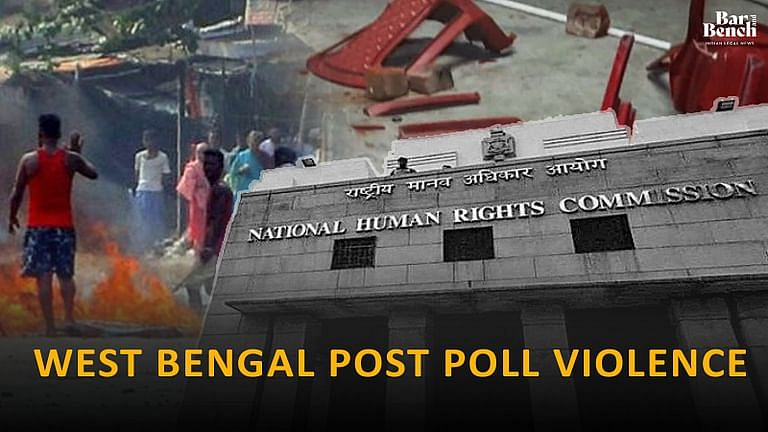 NHRC, West Bengal Poll Violence