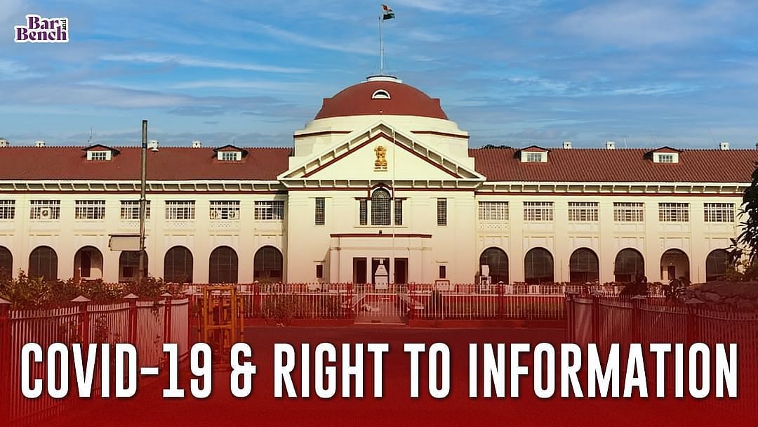 Covid-19 & Right To Information