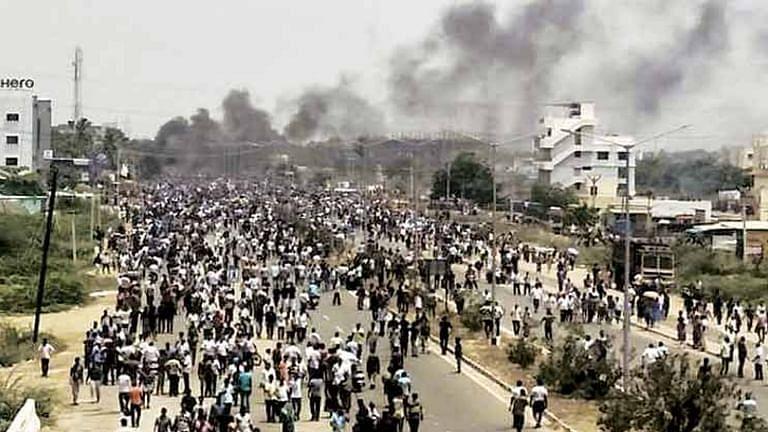 Anti-Sterlite protests