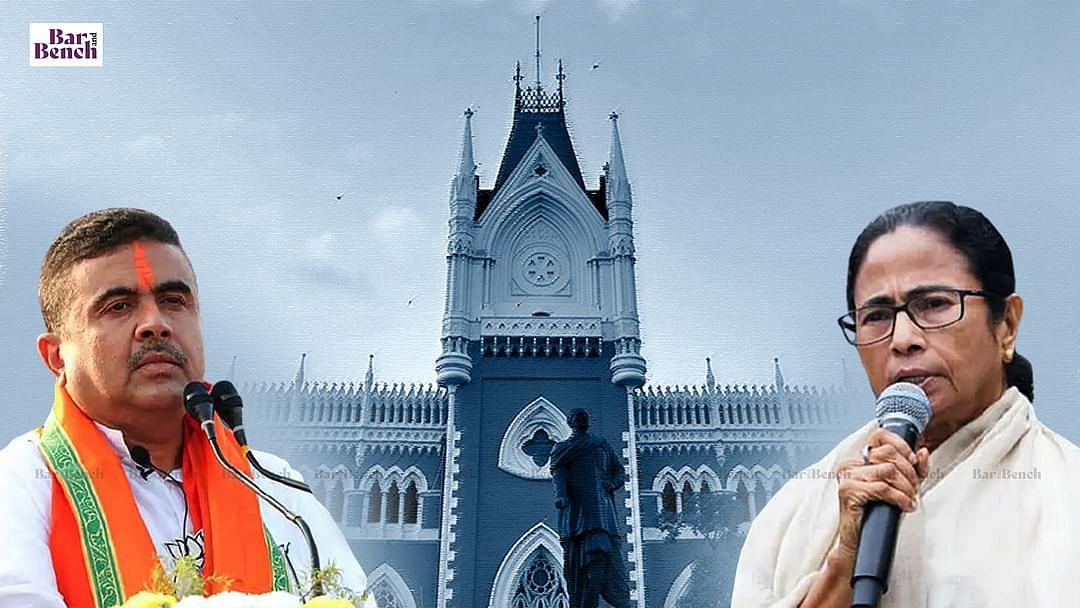 ನಂದಿಗ್ರಾಮ ಫಲಿತಾಂಶ ಪ್ರಶ್ನಿಸಿ ಮಮತಾ ಅರ್ಜಿ; ಕಲ್ಕತ್ತಾ ಹೈಕೋರ್ಟ್ನಿಂದ ಬಿಜೆಪಿಯ ಸುವೇಂದು ಅಧಿಕಾರಿಗೆ ನೋಟಿಸ್