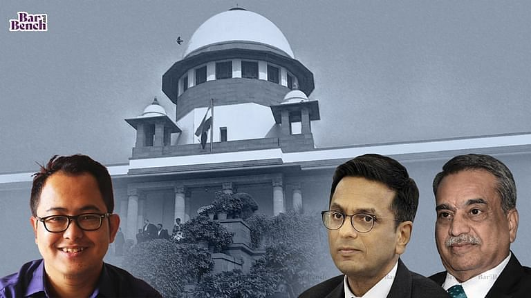 Justices DY Chandrachud and MR Shah, Erendro Leichombam