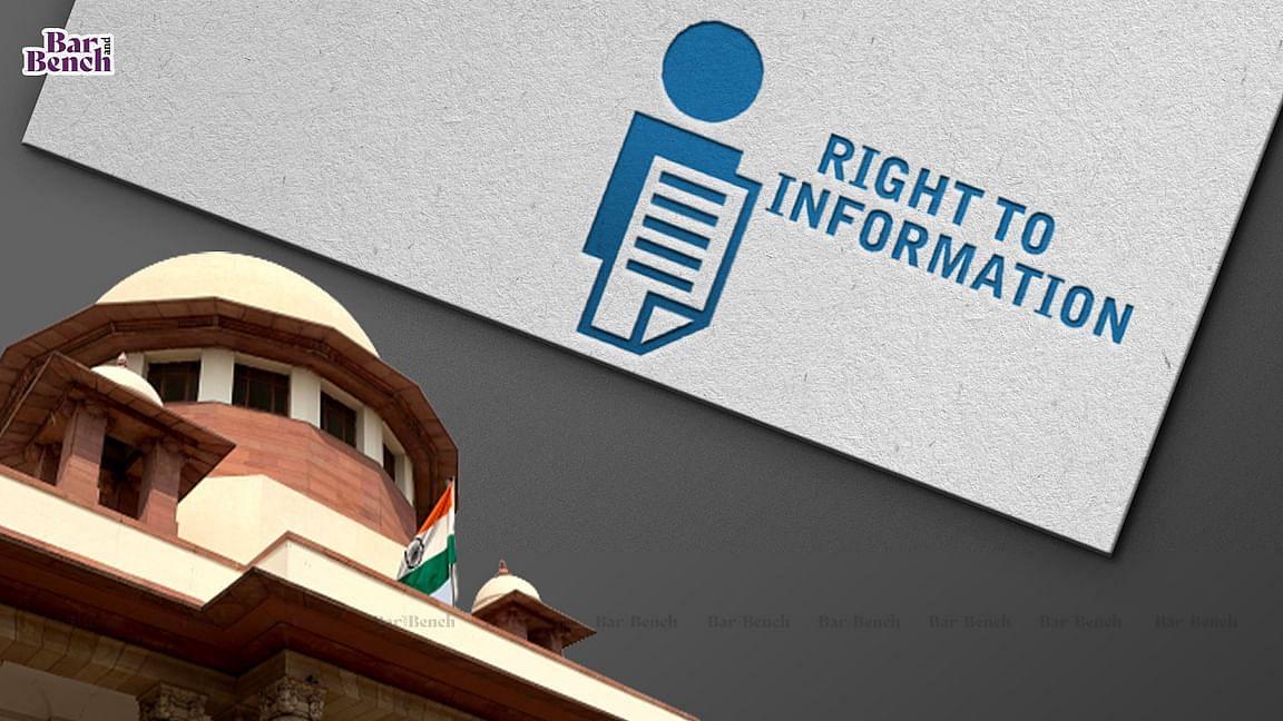 Supreme Court, RTI