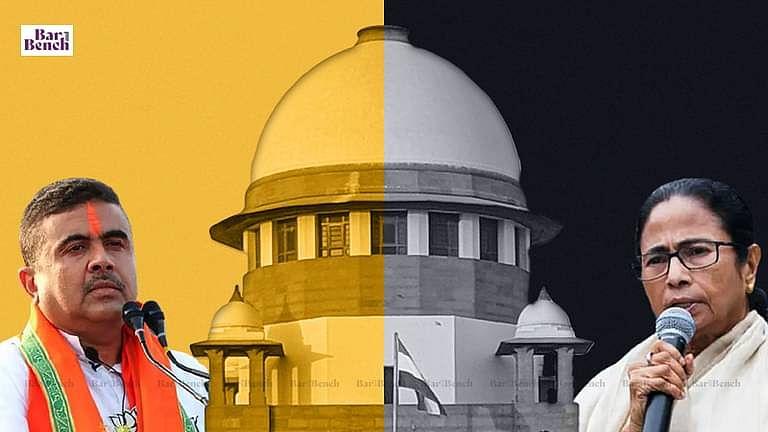 Suvendu Adhikari, Mamata Banerjee and Supreme Court