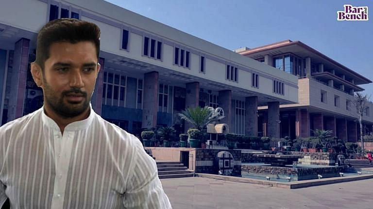 Chirag paswan and Delhi High Court