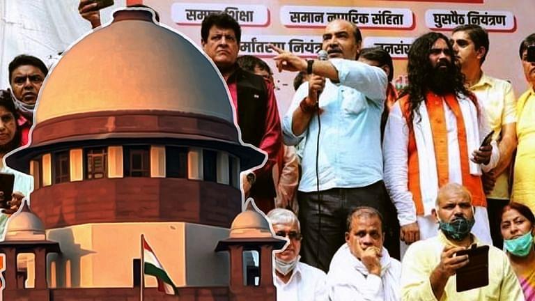 Lawyer Ashwini Upadhyay and Rally