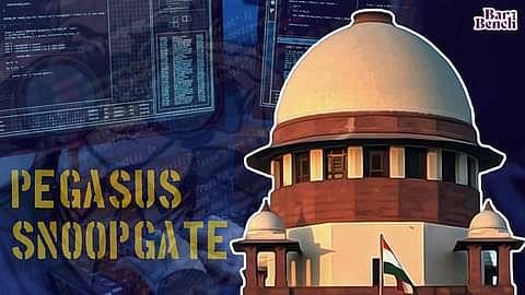 ಪೆಗಸಸ್ ಹಗರಣ: ಮುಂದಿನ ವಾರ ಸಮಗ್ರ ಆದೇಶ ನೀಡಲಿರುವ ಸುಪ್ರೀಂಕೋರ್ಟ್