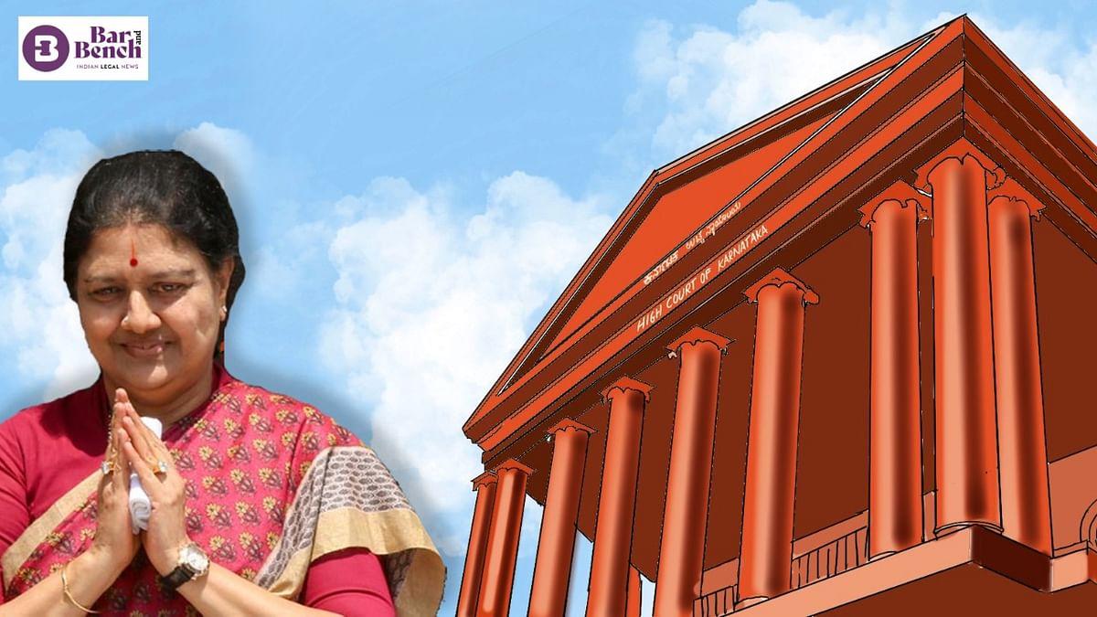 ಶಶಿಕಲಾ ಐಷಾರಾಮಿ ಸೆರೆವಾಸ ಪ್ರಕರಣ: ಮುಚ್ಚಿದ ಲಕೋಟೆಯಲ್ಲಿ ವರದಿ ಸಲ್ಲಿಸಲು ಎಸಿಬಿಗೆ ಹೈಕೋರ್ಟ್ ನಿರ್ದೇಶನ