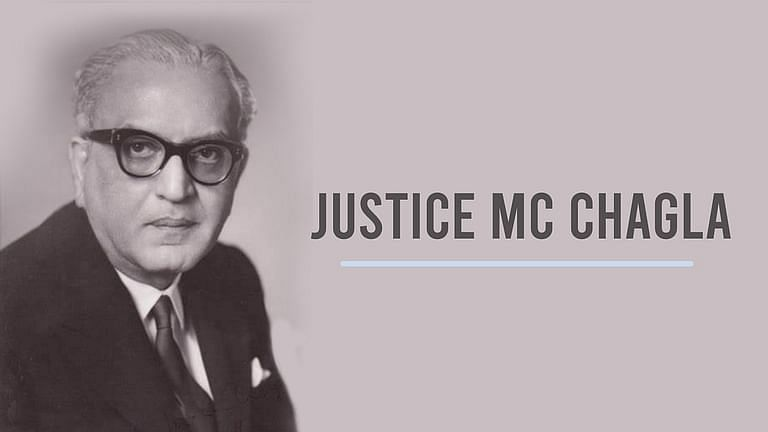 Justice MC Chagla
