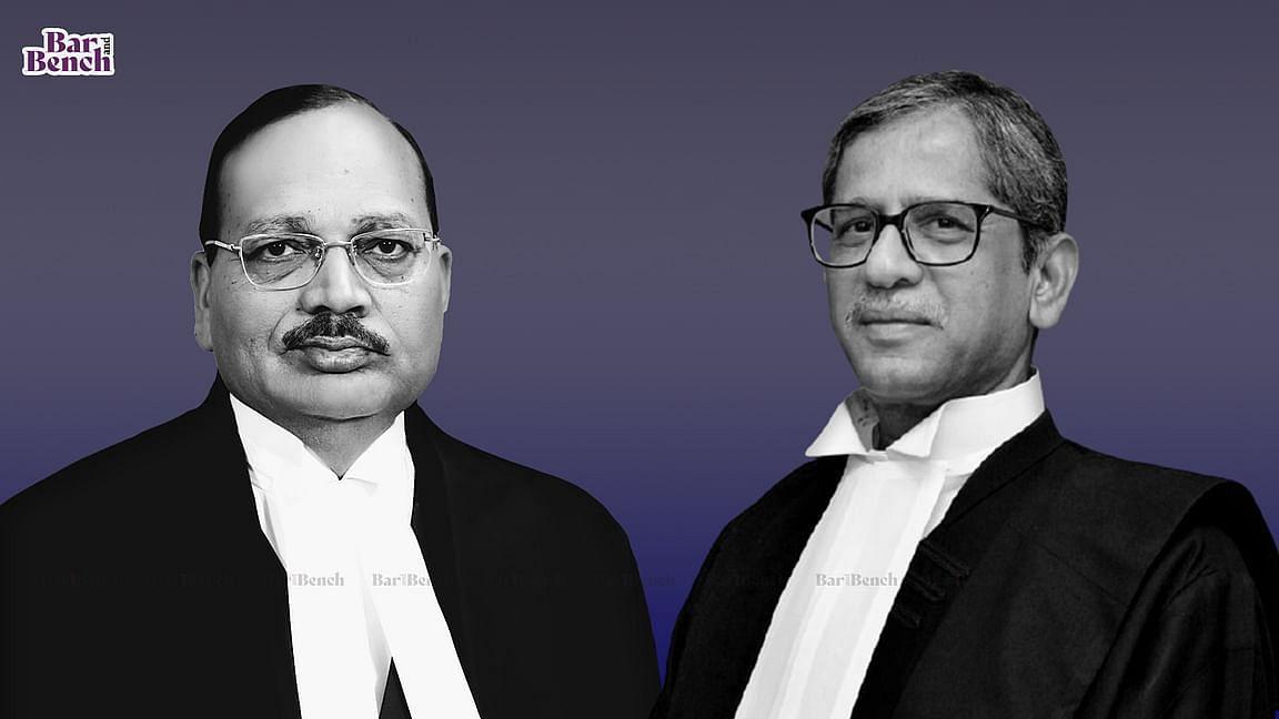 CJI NV Ramana and Justice Surya Kant