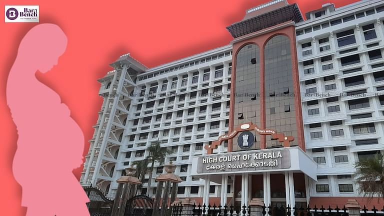 pregnant woman and kerala high court