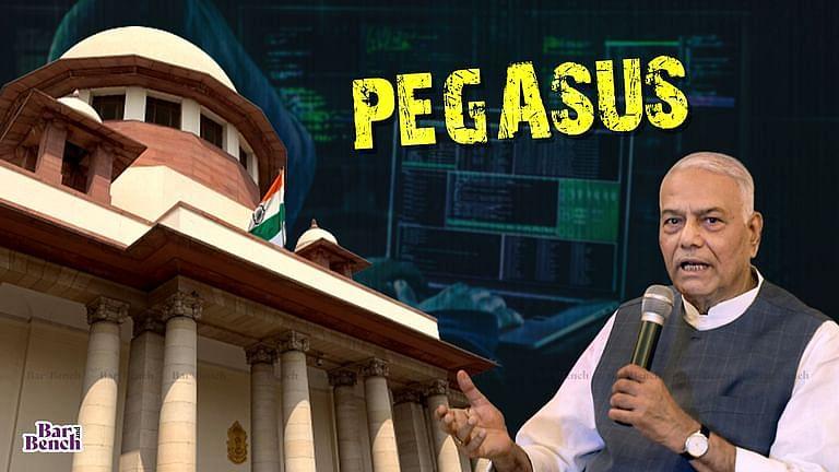 ಪೆಗಸಸ್ ಹಗರಣದ ತನಿಖೆ ಕೋರಿ ಸುಪ್ರೀಂಕೋರ್ಟ್ಗೆ ಪಿಐಎಲ್ ಸಲ್ಲಿಸಿದ ಕೇಂದ್ರದ ಮಾಜಿ ಸಚಿವ ಯಶವಂತ್ ಸಿನ್ಹಾ