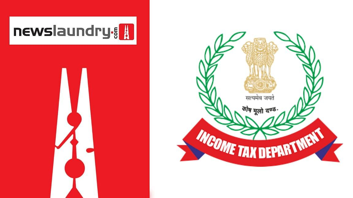 newslaundry and incometax department