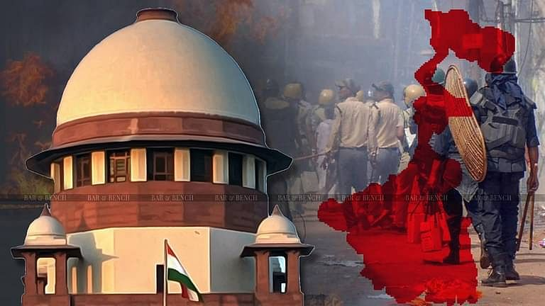 West Bengal Post Poll Violence, Supreme Court