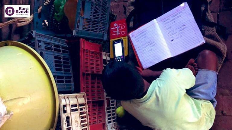 ಆರ್ಥಿಕವಾಗಿ ದುರ್ಬಲ ವಿದ್ಯಾರ್ಥಿಗಳಿಗೆ ಆನ್ಲೈನ್ ಶಿಕ್ಷಣ ನಿರಾಕರಿಸುವಂತಿಲ್ಲ: ಸುಪ್ರೀಂಕೋರ್ಟ್