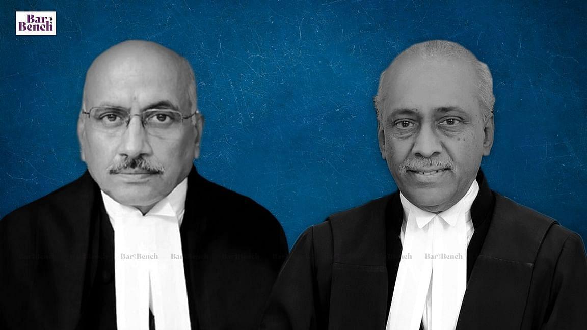 Justices Hemant Gupta and V Ramasubhramanian
