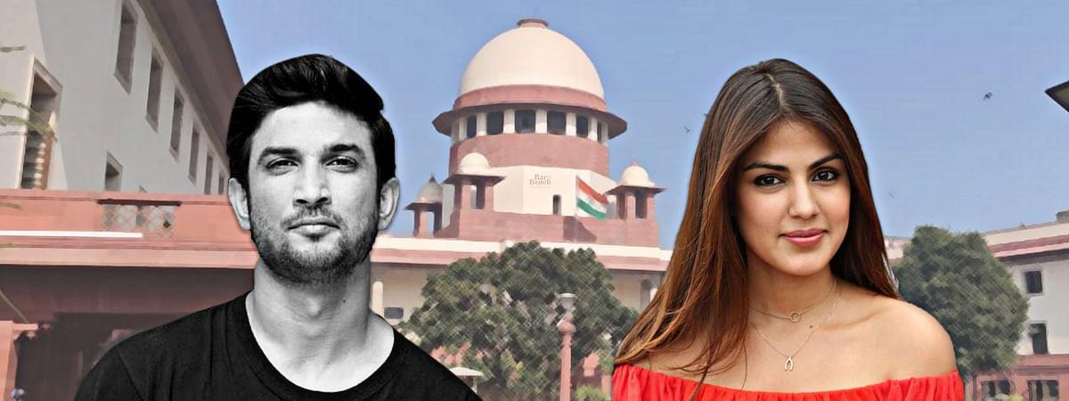 Rhea Chakraborty plea to transfer case from Bihar not maintainable ...