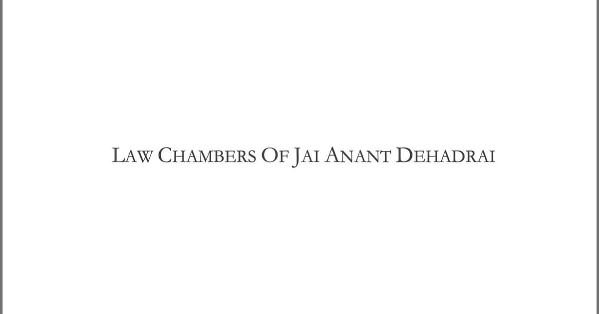 Photo of Legal Jobs: Chambers of Jai Anant Dehadrai is looking to hire an Associate – Bar and Bench