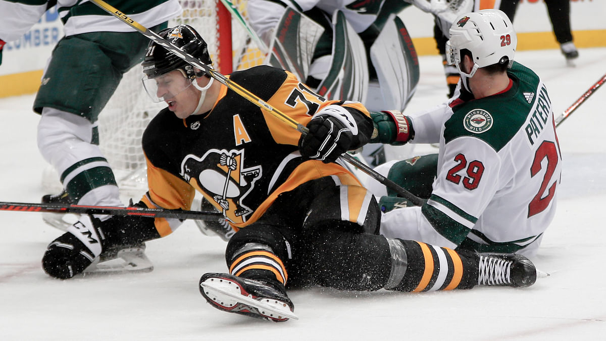 NHL: Red Wings @ Penguins, 7 p.m.