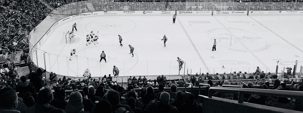 Capital One hockey game