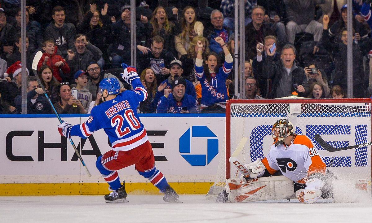 NHL Saturday - Rangers at Predators, 8 p.m.