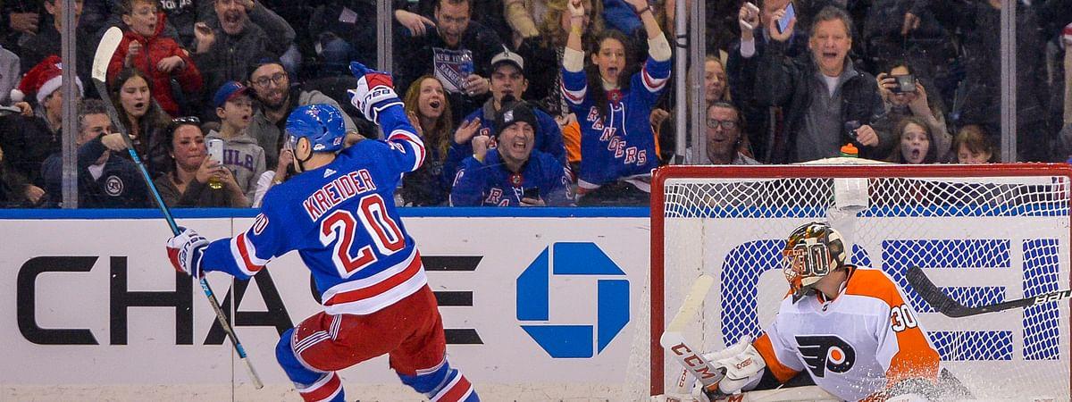 Rangers vs. Flyers