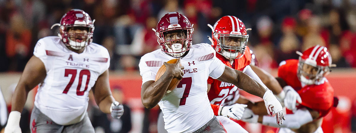 Temple Football RB Ryquell Armstead hopes to be healthy for the Independence Bowl.