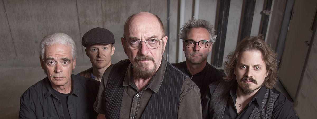 Rock legend Ian Anderson (center) brings the Jethro Tull 50th Anniversary Tour to Parx Casino in Bensalem, Pa. Friday for a sold-out concert