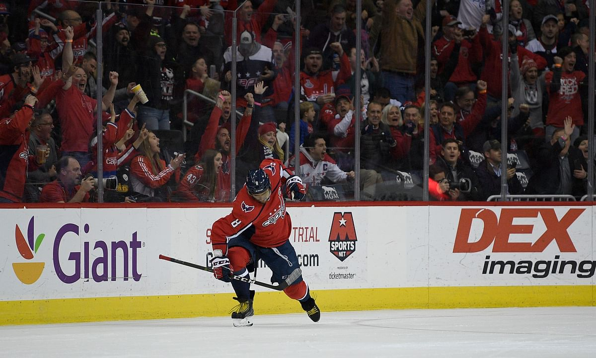 NHL: Friday we've got our salary on Caps, think Coyotes may upset