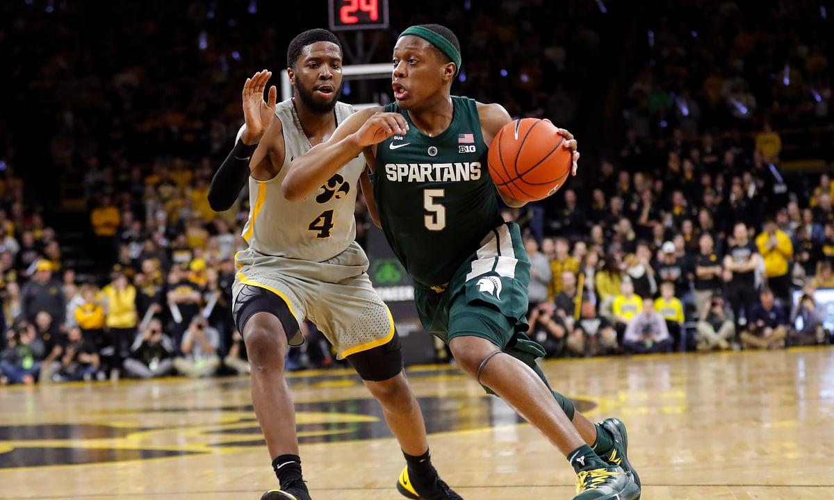 Kern shares his NCAAB picks of the day: DePaul vs Xavier, Iowa vs Michigan State, Toledo vs Central Michigan, and Akron vs Bowling Green