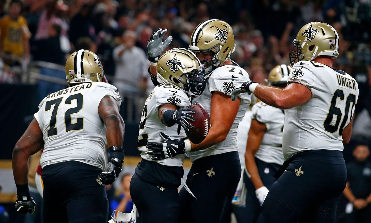 AP Picks: Philly has St. Nick but New Orleans has lots of Saints