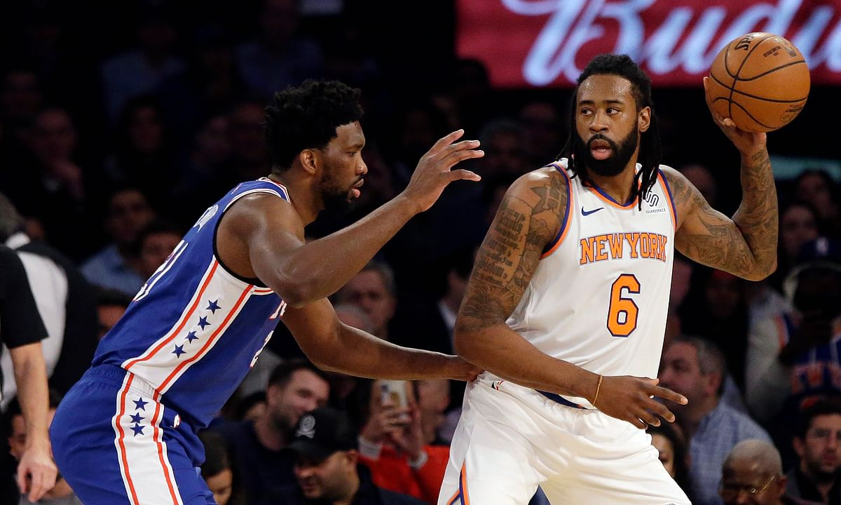 NBA Free Agency: DeAndre Jordan leaves Knicks for Nets - 4 years, $40 million to play with Durant