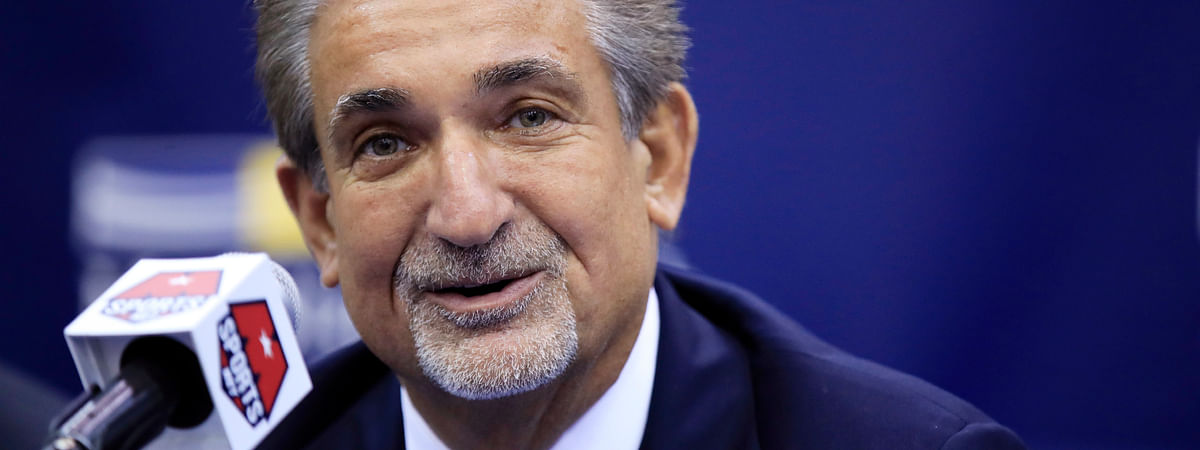 Washington Wizards majority owner Ted Leonsis speaks during an NBA basketball news conference in Washington.  (AP Photo/Manuel Balce Ceneta, File)