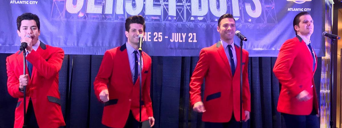 'Jersey Boys' cast