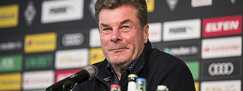 Borussia Monchengladbach <em>Head Coach Dieter Hecking</em>