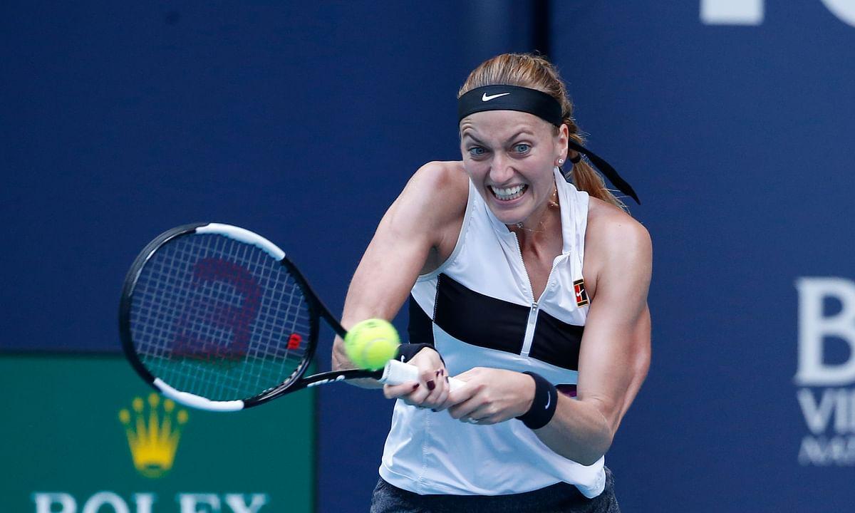 Tennis Monday Results: Defending champ Kvitova advances at Madrid Open, Gasquet to get Federer, Stephens & 3 American men win