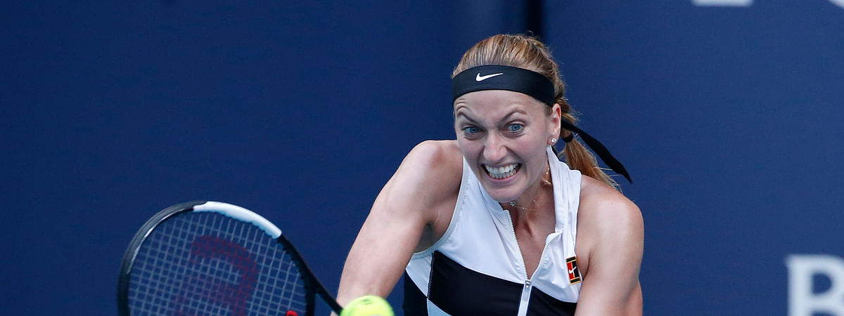 Petra Kvitova, seen a few months ago, returns to Madrid to defend her title. (Joel Auerbach)