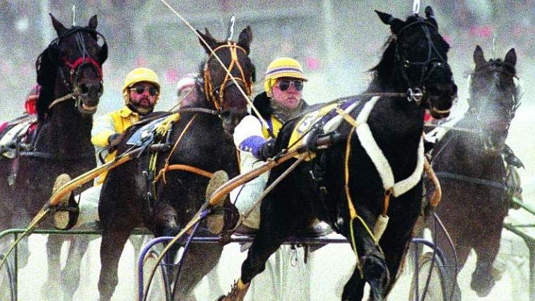 Hoist a brew or two as Harrah's Philadelphia celebrates the end of night harness racing season Friday