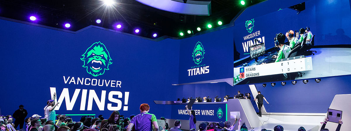 Vancouver Titans beat the Shanghai Dragons in Stage 1, Week 1 on February 16th, 2019