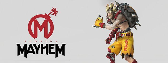 Florida Mayhem Team Logo, Overwatch League