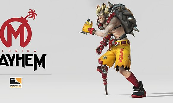 Florida Mayhem Team Logo, Overwatch League